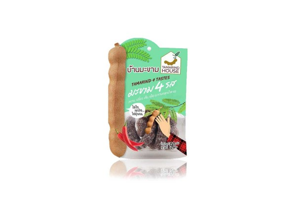 TAMARIND HOUSE, Sweet Tamarind with Sugar 4 Flavors - 90 g