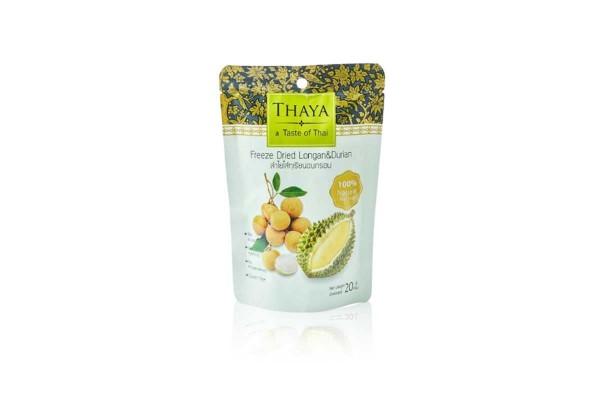 THAYA Freeze Dried Longan with Durian - 20 g