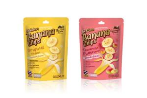 YOUNGER FARM, Golden Banana Chips