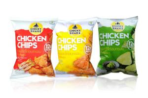 CHICKY SHAKE, High Protein Crispy Chicken Breast Snack
