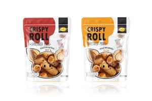 KAEW Crispy Coconut Roll with Shreded Pork