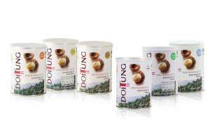DOI TUNG Seasoned Macadamia Nuts, 150 g in can
