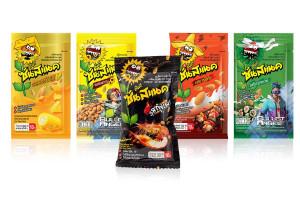 SUNSNACK DUNK, Roasted Sunflower Kernel Coated Flavors, Big Pack - 28 g