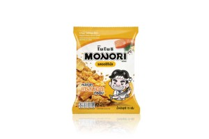 MONORI, Salmon Skin & Shrimp Cheek Snack