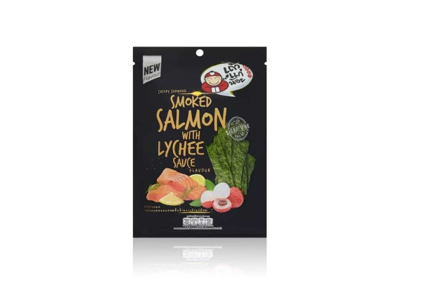 Crispy Seaweed Smoked Salmon with Lychee Sauce Flavour - 28 g