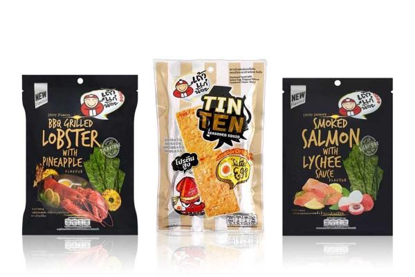 TAK KAE NOI,Flavored Seaweed & Grilled Squid
