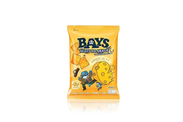 BAYS Crispy Fish Chip, Cheese - 18 g