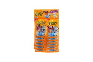 FISHO, Fish Snack in Variety of Flavors