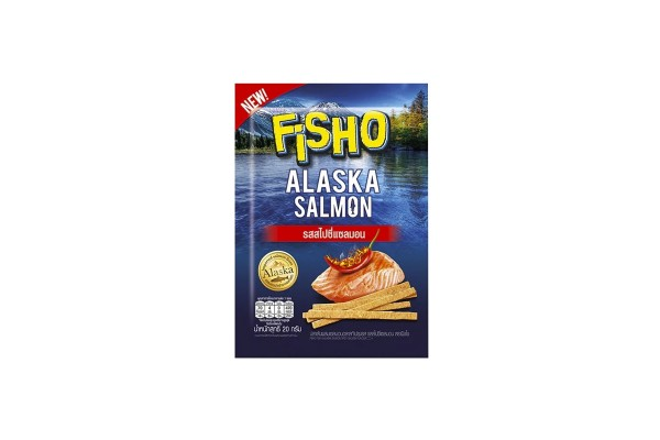 Fisho Fish Snack Spicy Salmon Flavor - 20 g