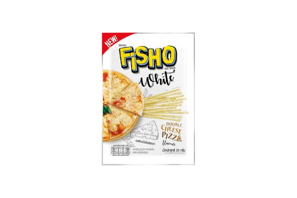 Fisho Fish Snack Double Cheese Pizza Flavor - 25 g