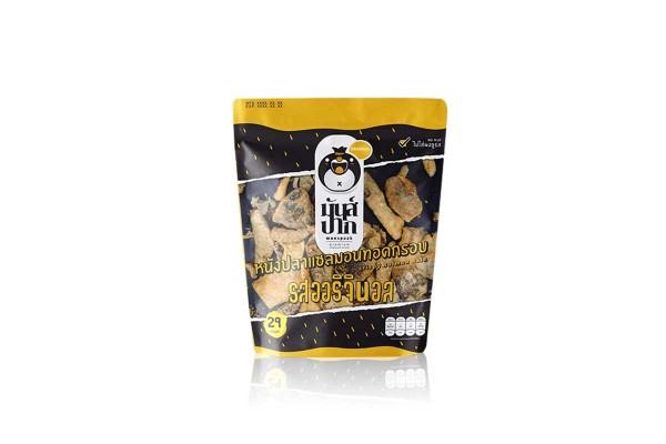 MUN-PAK, Deep Fried Salmon Skin, Original - 29 g