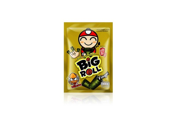 TAO KAE NOI Big Roll Finger, Grilled Squid Flavor 9 g