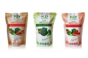 KD STORY, Crispy Broccoli Snack with Various Flavors