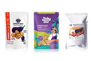 TICKLE TIME, Super Healthy & Clean Egg Plant Chip