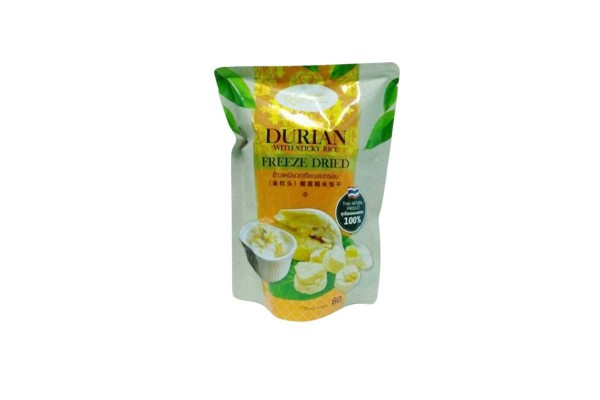 Lueng Chan Durian with Sticky Rice Freeze Dried - 60 g