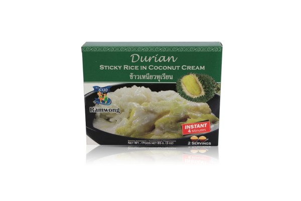 Ready-to-Eat Durian with Sticky Rice,Wholesale Discounts