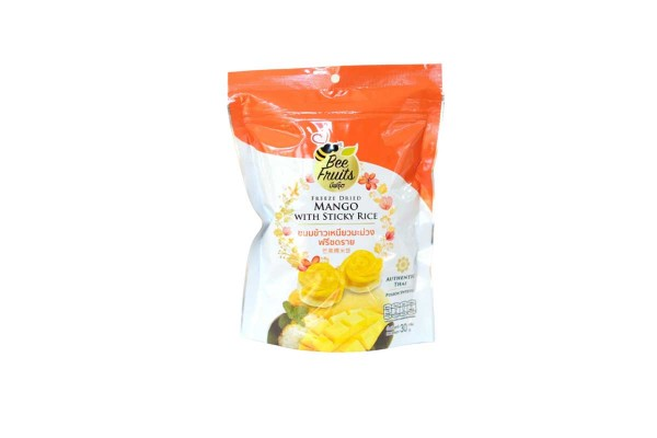 Bee Fruits Freeze Dried  Mango with Sticky Rice - 30 g