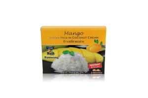 Ready-to-Eat Mango with Sticky Rice, Wholesale Discounts