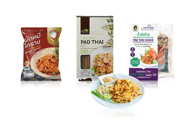 Ready-to-Cook Pad Thai or Pad Thai Korat with Wholesale Discount